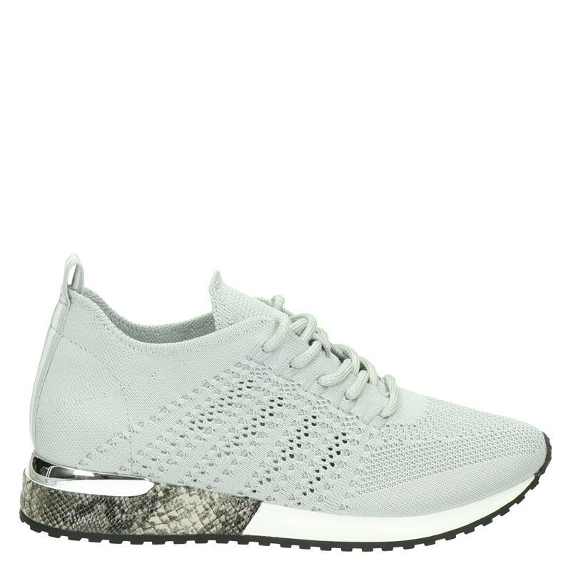 La Strada - Lage sneakers - Licht grijs