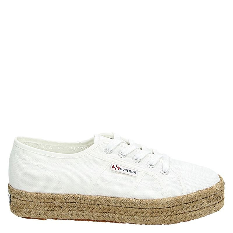 Superga 2730 Cotropew - Lage sneakers - Wit