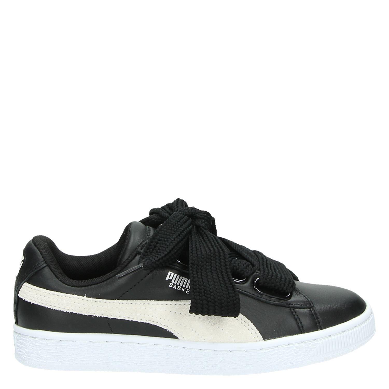 Chaussures De Sport De Basket-ball Noir Puma Bas Coeur DA6qQ