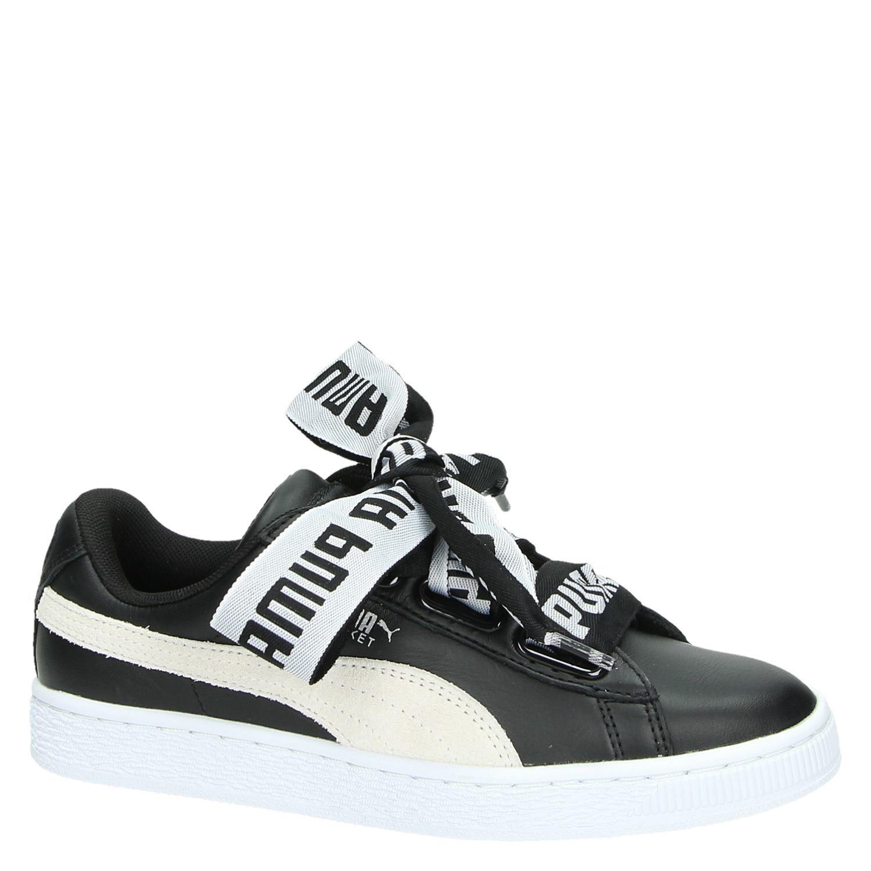 Puma Basket damessneaker zwart