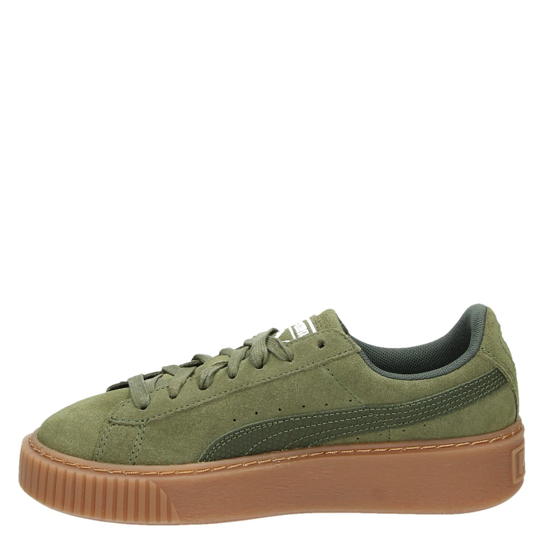 Pumas Femmes Plateforme Vikky Ven Sneaker - Vert - 36 Eu 7xSiJ70