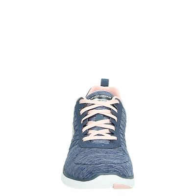 Dames Dames Blauw Lage Skechers Skechers Sneakers Skechers Blauw Lage Sneakers LSMUVGqzp