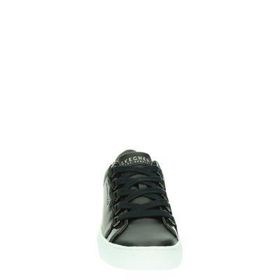 Skechers dames lage sneakers Zwart