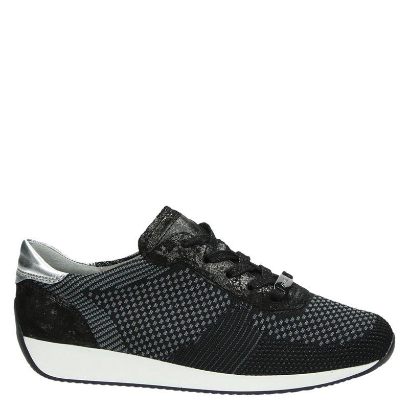 Ara Fusion 4 - Lage sneakers - Zwart