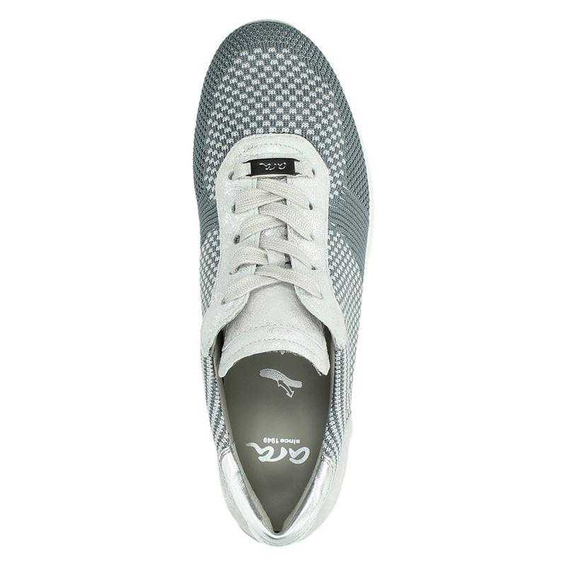 Ara Fusion 4 - Lage sneakers - Zilver