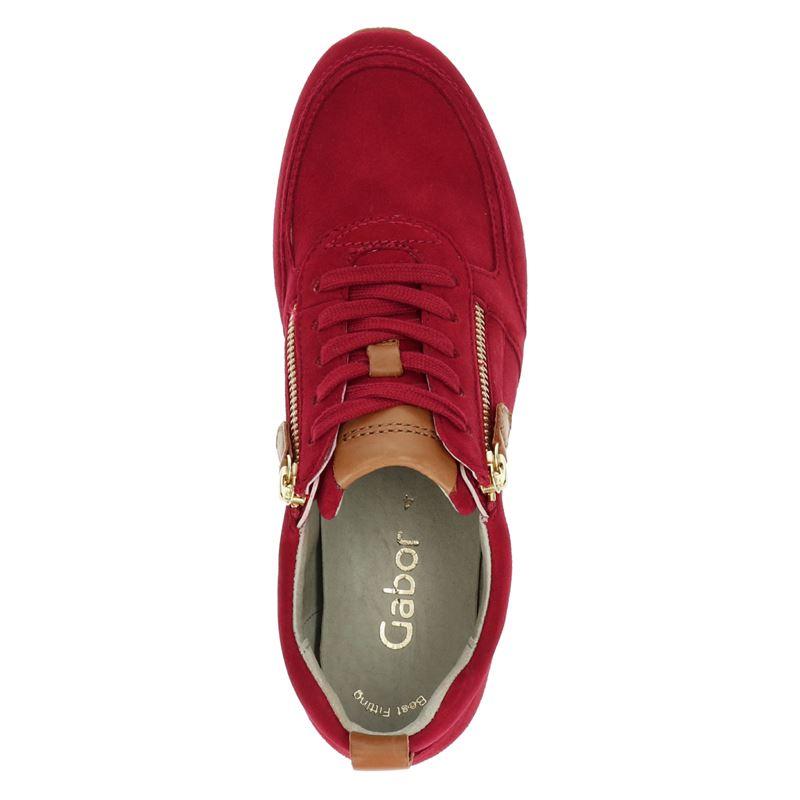 Gabor - Lage sneakers - Rood