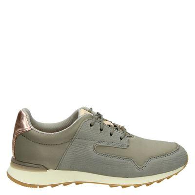 Clarks dames sneakers groen