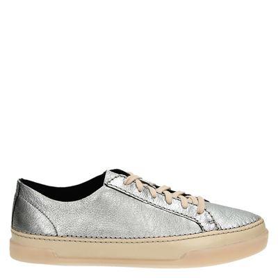 Clarks dames sneakers zilver