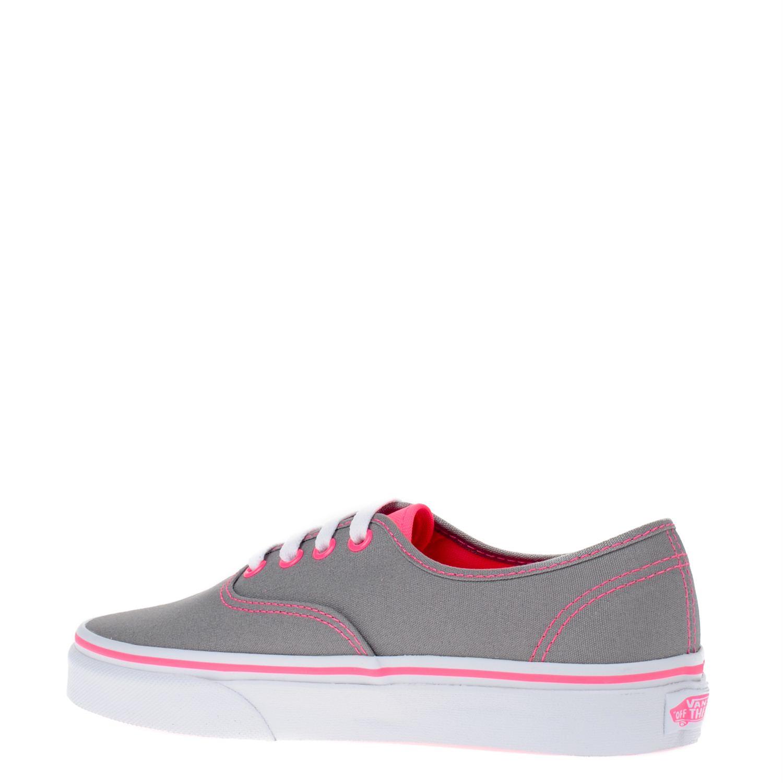 vans roze grijs