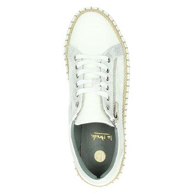 La Strada dames lage sneakers Wit