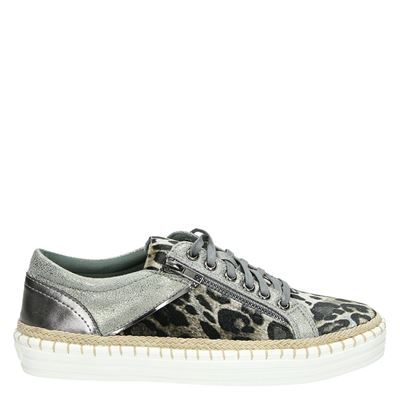 La Strada dames sneakers bruin