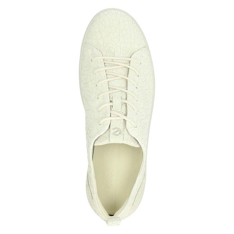 Ecco Soft 8 - Lage sneakers - Ecru