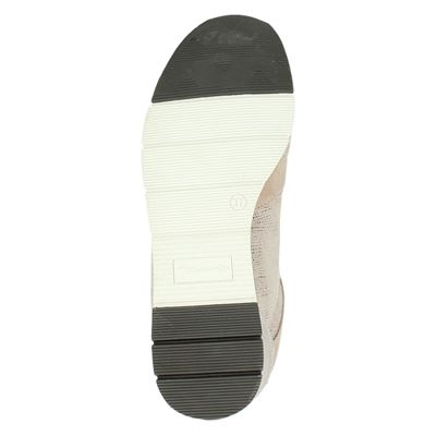 Tamaris dames lage sneakers Roze