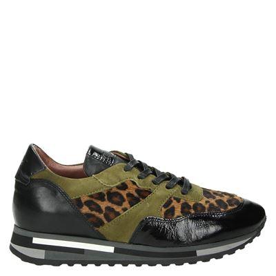 Mjus dames sneakers bruin