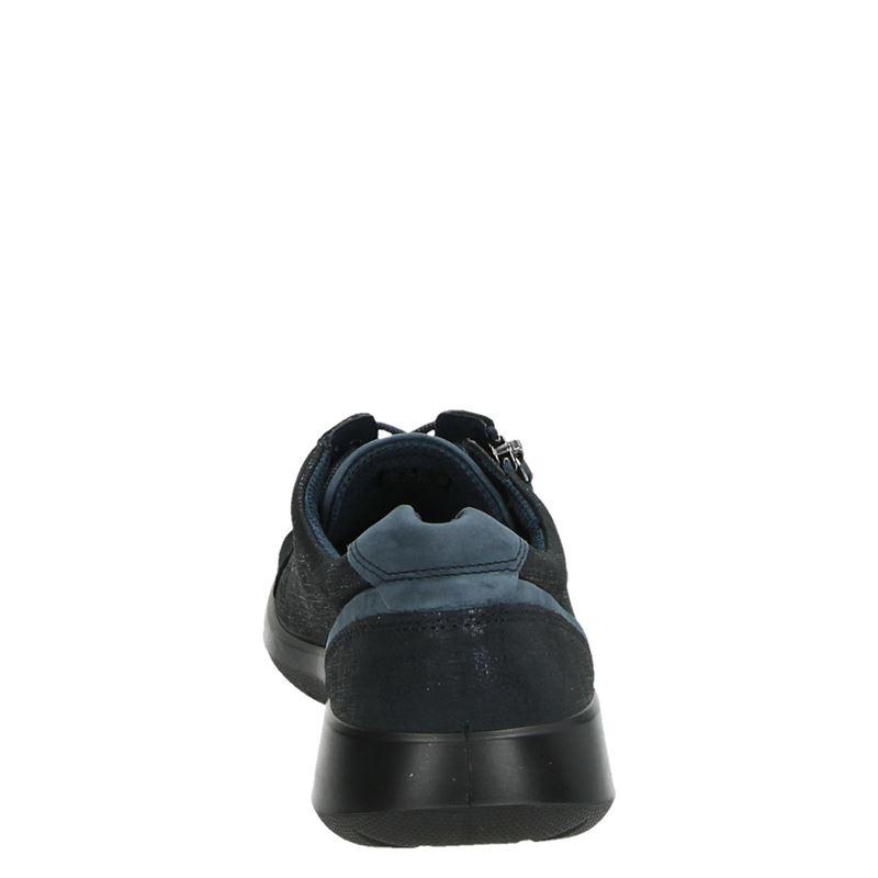 Ecco Soft 5 - Lage sneakers - Blauw