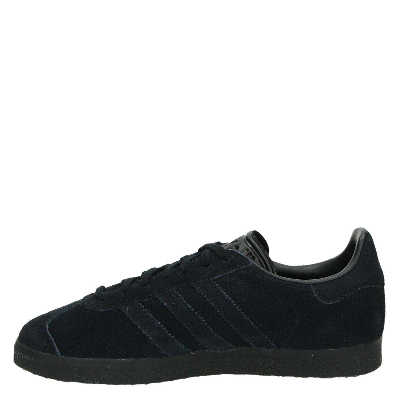 Adidas Gazelle dames lage sneakers zwart