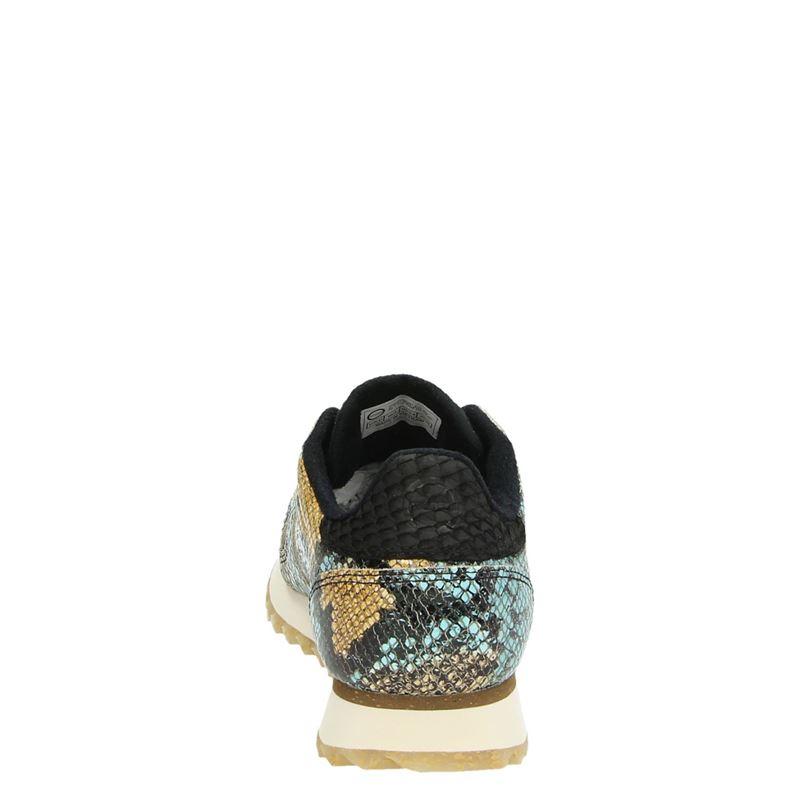Woden Ydun Snake - Lage sneakers - Blauw