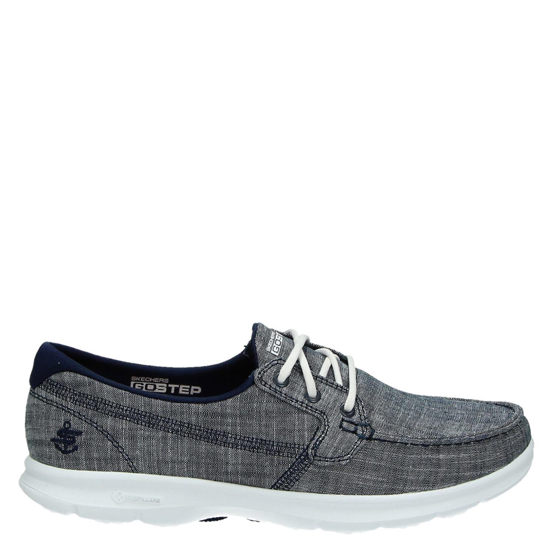 Chaussures Skechers Avec Entrée Bleu Pour Femmes jnLHJcA6