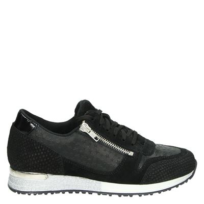 PS Poelman dames sneakers zwart