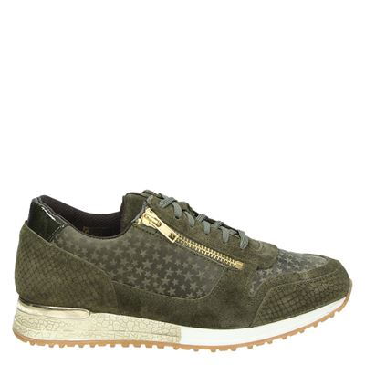 PS Poelman dames sneakers groen