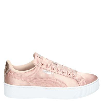 Puma dames lage sneakers roze