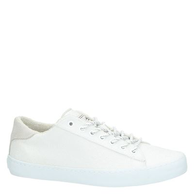 Hub dames lage sneakers Wit