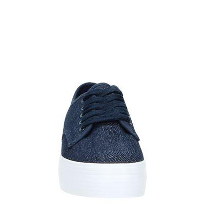 Hobbs dames lage sneakers Blauw