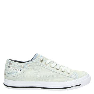 Diesel dames lage sneakers Blauw