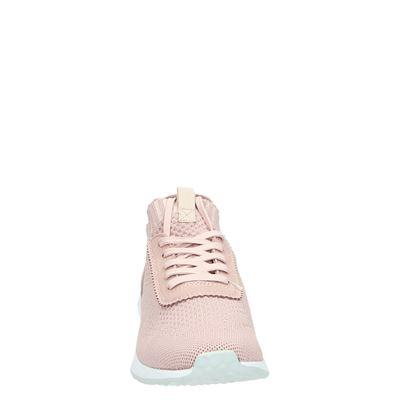 Tamaris dames hoge sneakers Roze