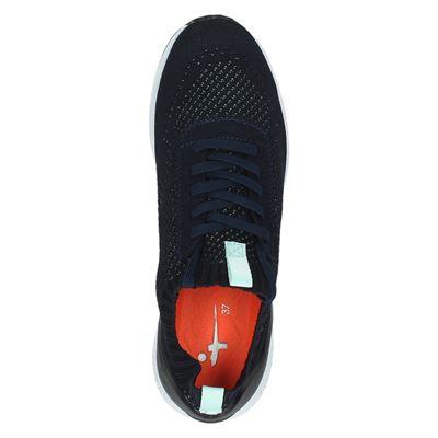 Tamaris dames hoge sneakers Blauw