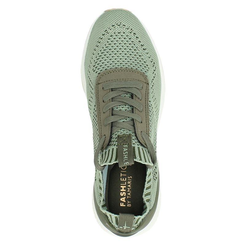 Tamaris - Hoge sneakers - Groen