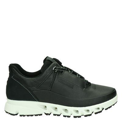 Ecco dames lage sneakers zwart