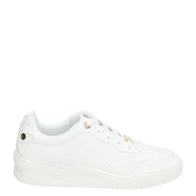 Mexx dames lage sneakers wit