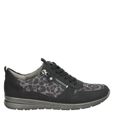 Jenny dames sneakers zwart