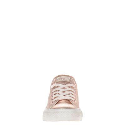 Converse dames lage sneakers Goud