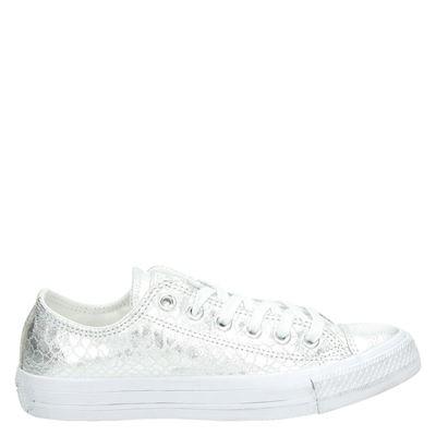 Converse dames sneakers zilver