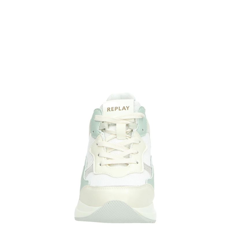 Replay - Dad Sneakers - Wit
