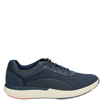 Clarks dames sneakers blauw