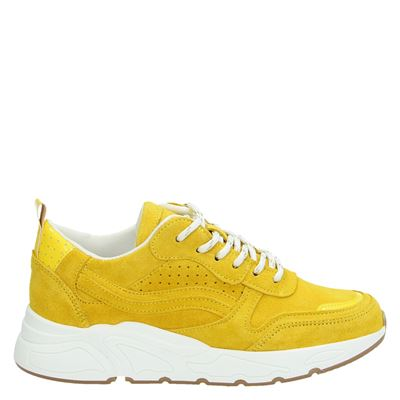 PS Poelman dames dad sneakers geel