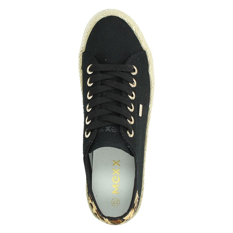 Mexx Chevelijn - Lage sneakers - Zwart
