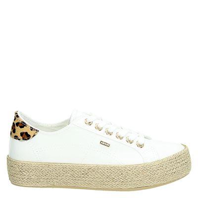Mexx dames platform sneakers wit