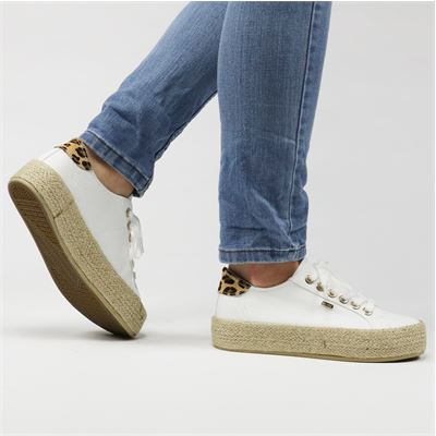 Mexx dames sneakers wit