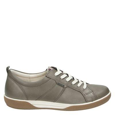 Ecco dames veterschoenen grijs