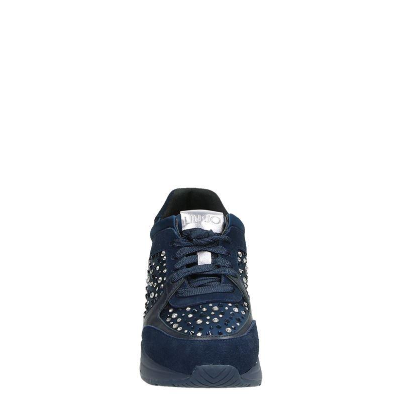 LIU-JO Karlie 05 - Lage sneakers - Blauw