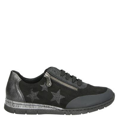 Rieker dames sneakers zwart