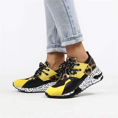 Steve Madden dames sneakers geel