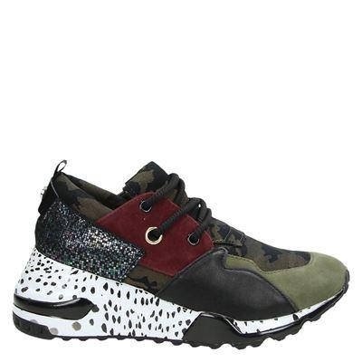 Steve Madden dames sneakers kaki