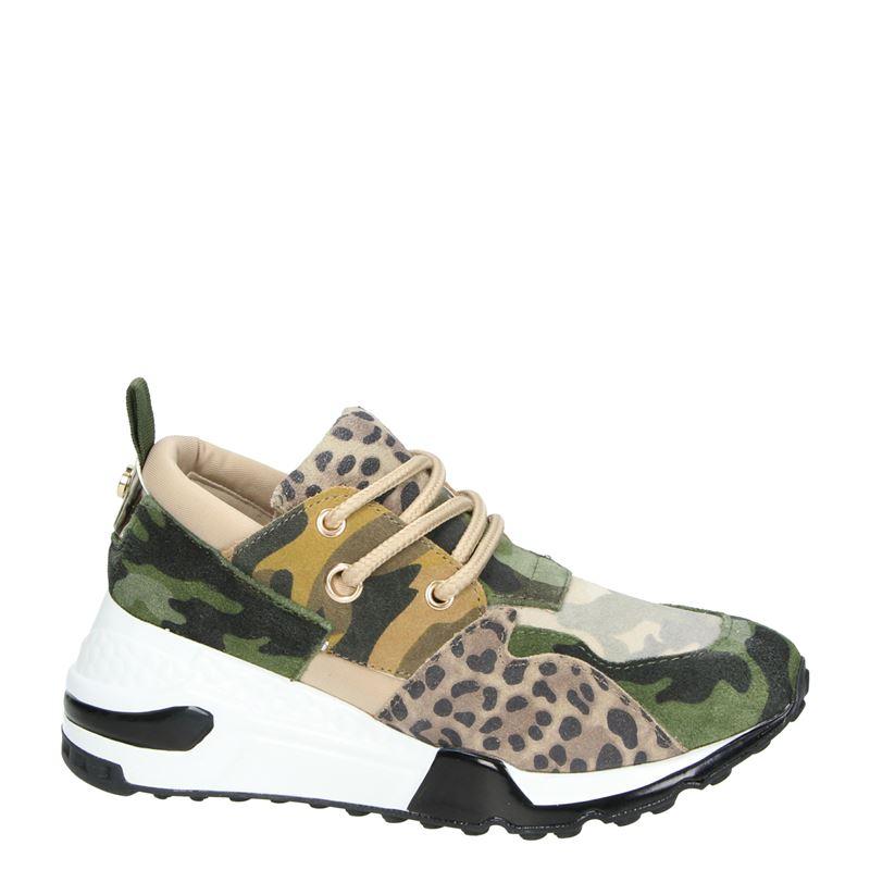 Steve Madden Cliff - Hoge sneakers - Kaki