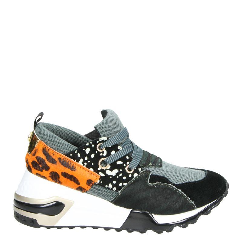 Steve Madden Cliff - Lage sneakers - Groen