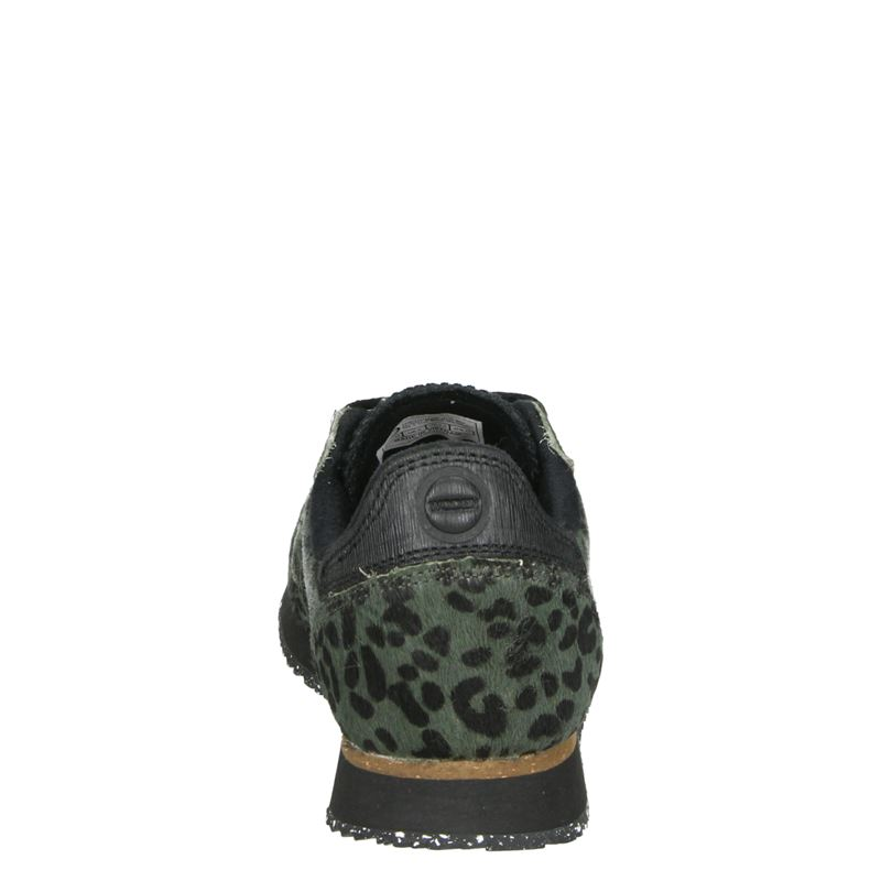 Woden Ydun ll Pony - Lage sneakers - Groen